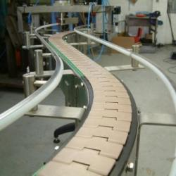 Slat Conveyor System Installation from C-Trak Ltd